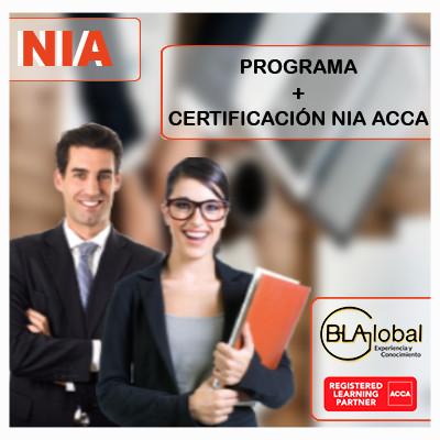 Programa de preparación NIA ACCA + Certificación Internacional en NIA ACCA